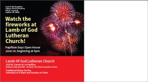 Lamb of God New Church Marketing Campaign, back