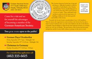 German American Targeted Mailing List